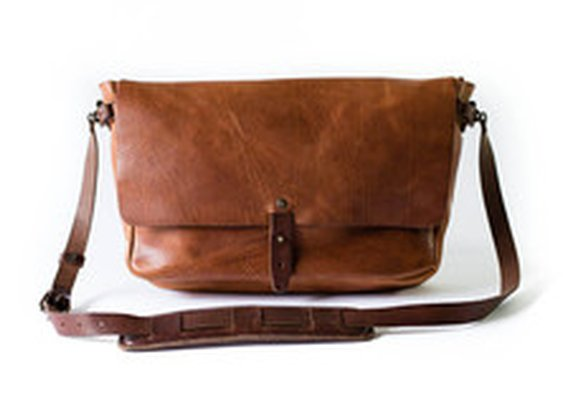 Vintage Messenger Bag | Whipping Post
