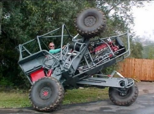 The Awesome Off-Road Vehicle - Chainlink Extreme 4x4