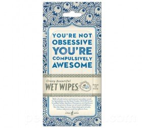 Compulsively Awesome Wet Wipes   Cheaper Than A Shrink