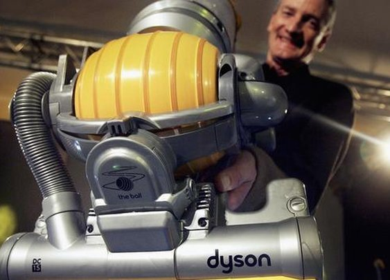 Frustration and failure fuel Dyson's success