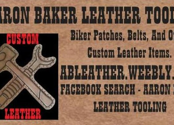 Aaron Baker Leather Tooling - Home