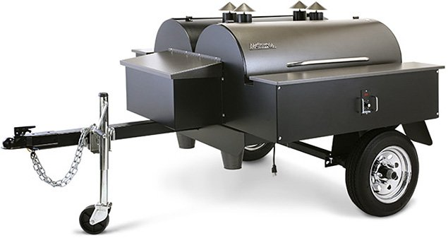 Traeger Double BBQ Trailer | Uncrate