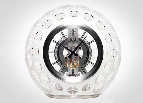 Hermès, Jaeger-LeCoultre and Saint-Louis Create Spectacular Atmos Clock