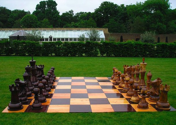 Wooden Giant Chess