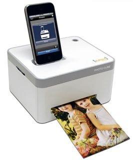 iPhone/iPad Photo Cube Printer