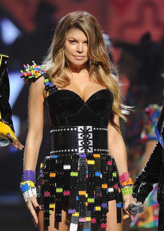 Fergie on a Lego Dress