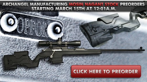 Mosin Nagant AA9130 Stock now available for pre-order