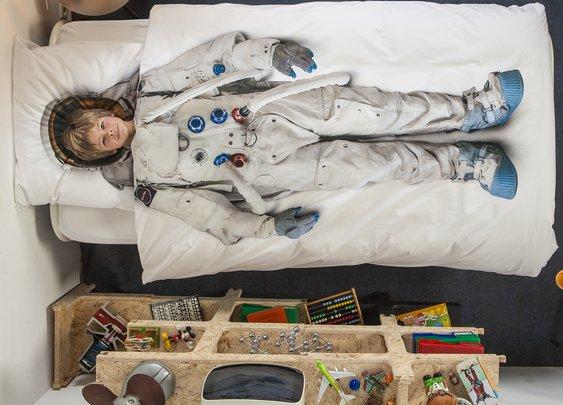 Kids Astronaut Bedding