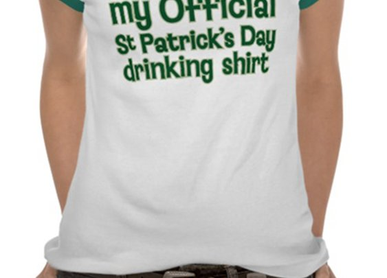 St Patrick's Day Drinking Shirt