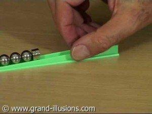 Gaussian Gun – a Physics Toy Using Magnets and Ball Bearings