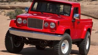 Jeep Wrangler pickup and baby Wrangler in the works?