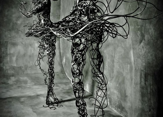 Unraveling Steel Ballerina Sculptures Symbolize Mortality - My Modern Metropolis