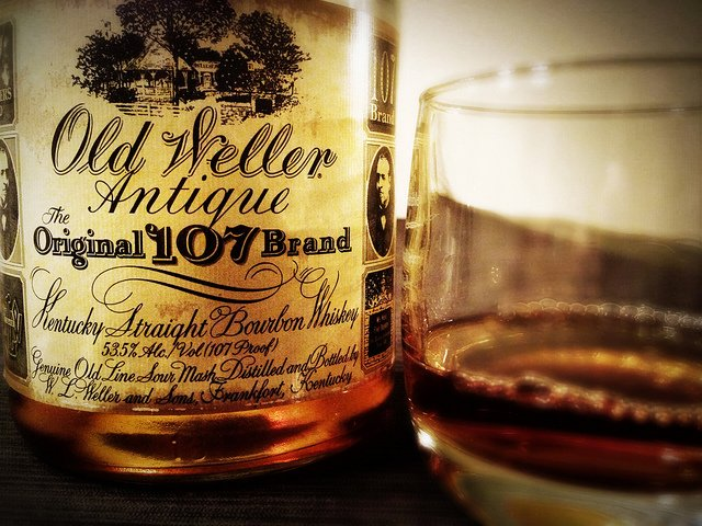 Old Weller Antique | Cigar and Whiskey