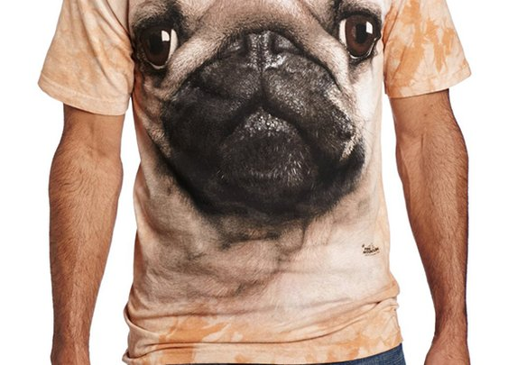 Animal Face TShirt - Pug