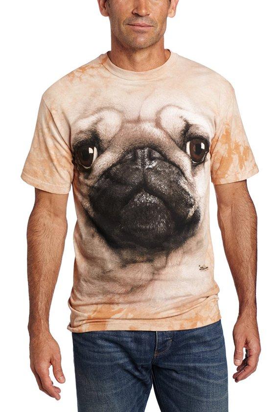 Animal Face TShirt - Pug