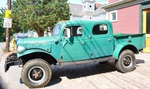 1946 Dodge Power Wagon Crew-Cab | Moldy Chum