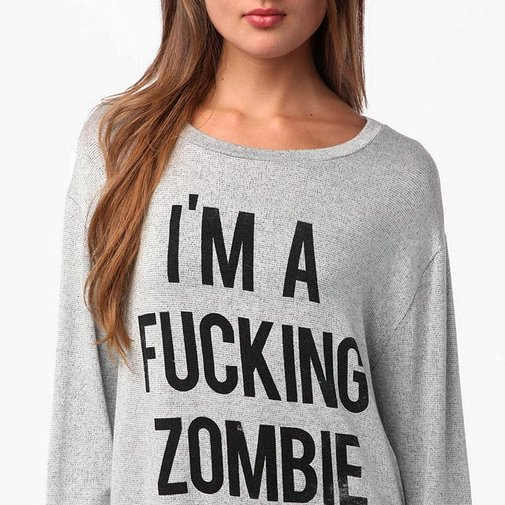 Daydreamer LA I'm A F*ckin Zombie Sweatshirt