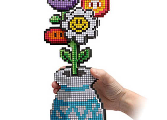 8-Bit Flower Bouquet :: ThinkGeek