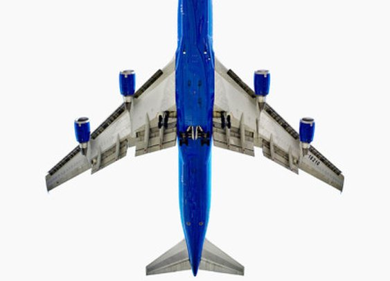Photos of the Undersides of Aircraft Highlight Beauty of Aircraft Design