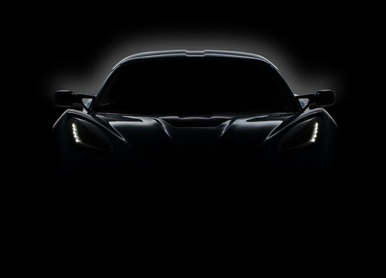 Detroit Electric all-electric two-seat sports car teaser photo, March 2013 - Green Car Reports