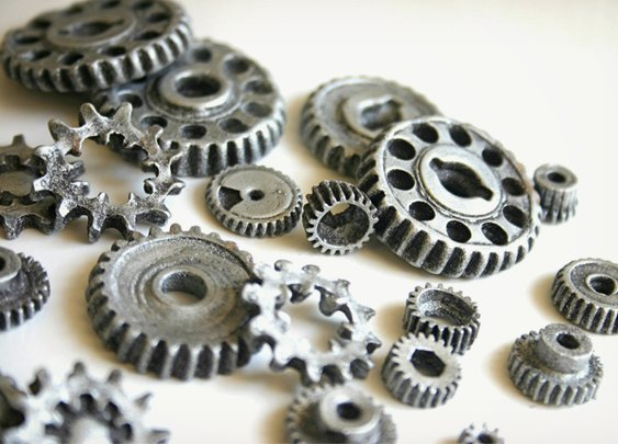 Edible Chocolate Gears | Cool Material
