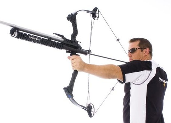 Bow Mount Arrow Gun