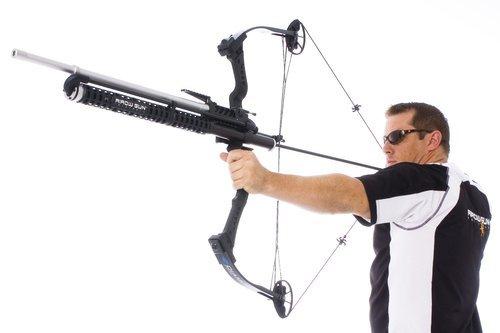 Bow Mount Arrow Gun
