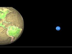 All the Water on Earth Collected into a Sphere | ClickExist