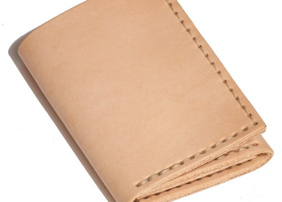 Trifold Wallet - Natural | Emil Erwin
