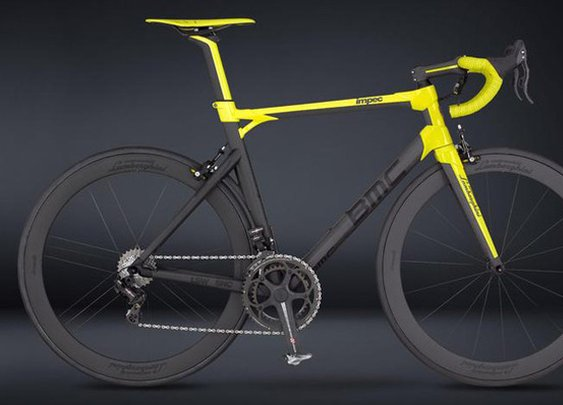 BMC + Lamborghini 50th Anniversary Bicycle