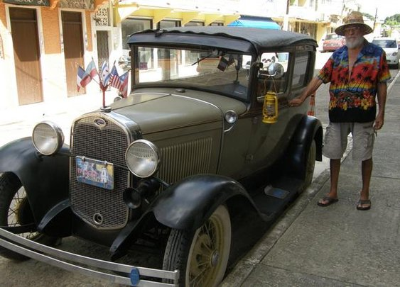 1930 Ford with its original owner