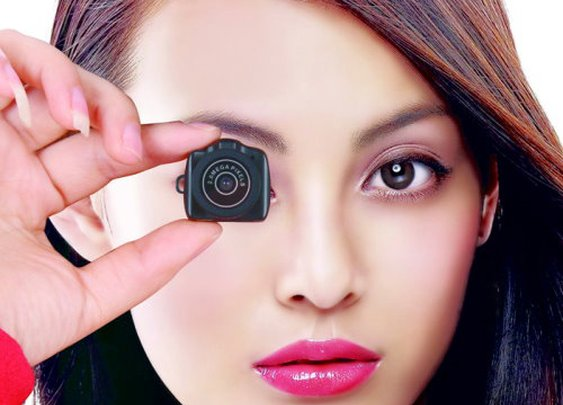 Mame-Cam SLR - World's Smallest Digital Camera