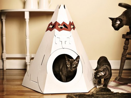 Cat Teepee by Loyal Luxe