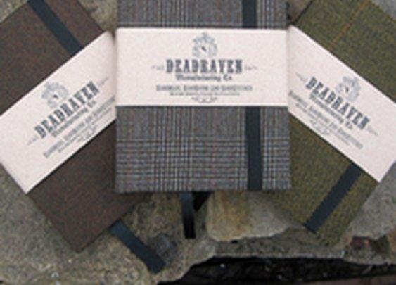 Vintage Heritage Cloth Notebooks