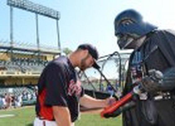 Darth V is a Braves fan.