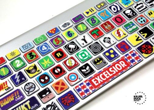 Super Hero Skin for Macbook Keyboard