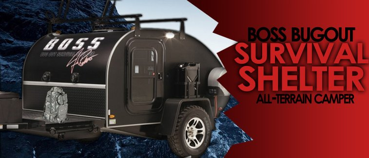BOSS Bug Out Survival Shelter | Manly Adventure