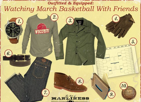 Outfitted & Equipped: Watching March Basketball with Friends | The Art of Manliness