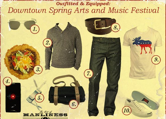 Outfitted & Equipped: Downtown Spring Arts and Music Festival | The Art of Manliness