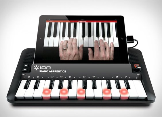 ION Audio PIANO APPRENTICE 25-note Lighted Keyboard