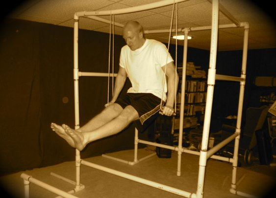 How to Build the Ultimate Bodyweight Gym (Using Only PVC Pipe)   The Art of Manliness