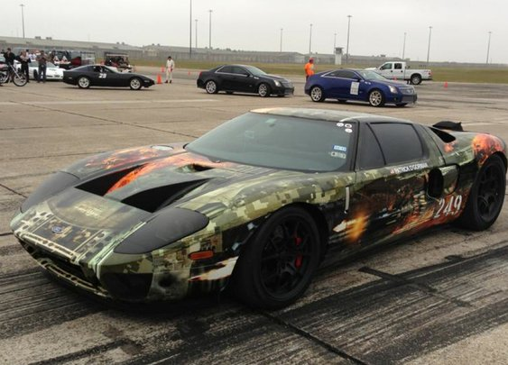 Hennessey Ford GT Hits A Record 267.6 MPH