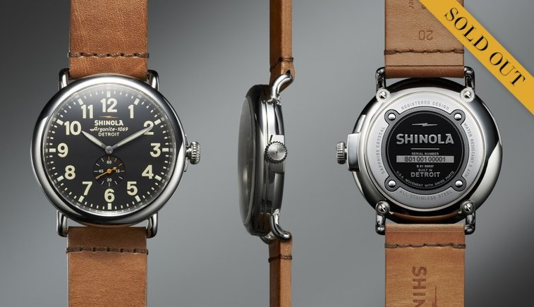 The Runwell 40mm Limited Edition  | Shinola® | Swiss Watch Made in Detroit