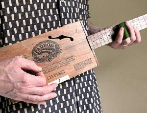 handmade cigar box guitars