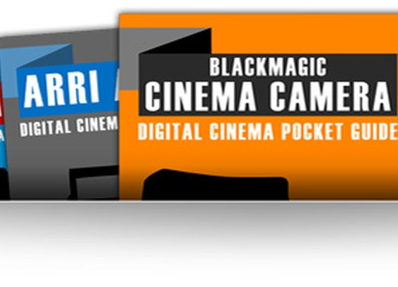 Digital Cinema Camera Pocket Guides | The Black and Blue