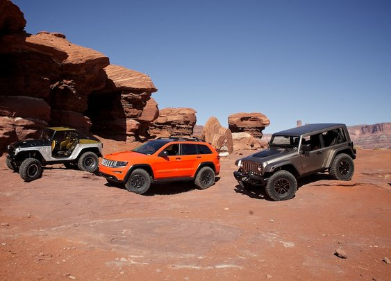 Easter Jeep Safari Concept Vehicles Straight from Moab