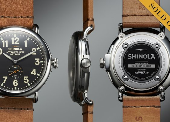 The Runwell 47mm Limited Edition  | Shinola®