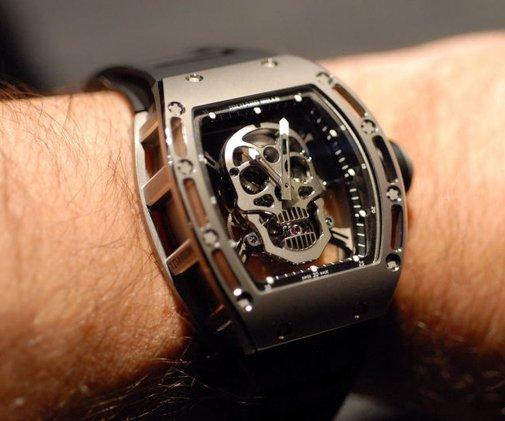 Richard Mille Tourbillon Skull Watch