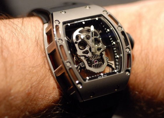 Richard Mille Tourbillon Skull Watch