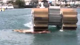 DARPA Captive Air Amphibious Transporters (CAAT) For Disaster Relief - YouTube
